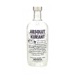 Absolut - Kurant Vodka