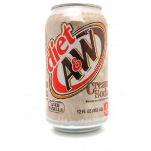 A & W - Diet Cream Soda