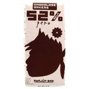 Chocolate Makers - Awajún Bar Criollo 52% Melk