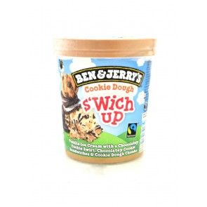 Ben & Jerry's - Cookie Dough S'Wich Up