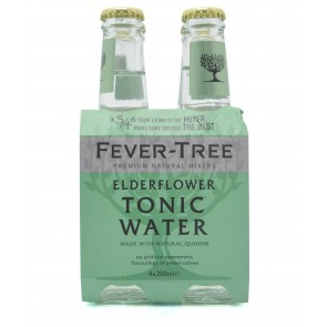 Fever-Tree Elderflower Tonic 200ml 4-Pack