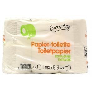 Everyday Toiletpapier Extra Dik 6 Rollen