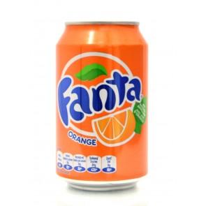 Fanta - Orange  Blik
