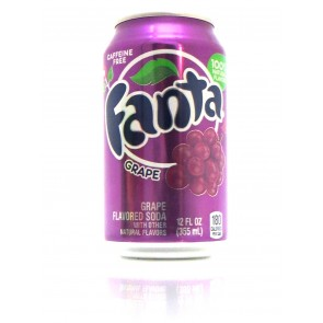 Fanta - Grape Blik