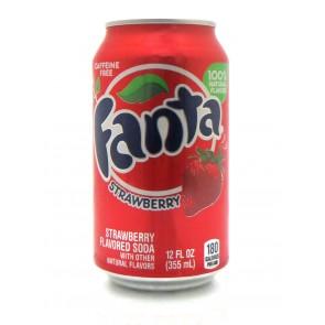 Fanta - Strawberry Blik