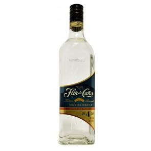 Flor de Cana - Extra Seco Blanco Rum 4 Years
