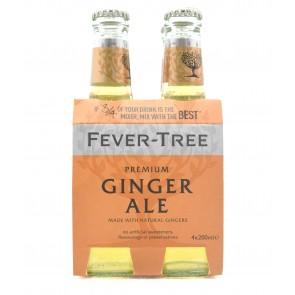 Fever-Tree Premium Ginger Ale 200ml 4-Pack