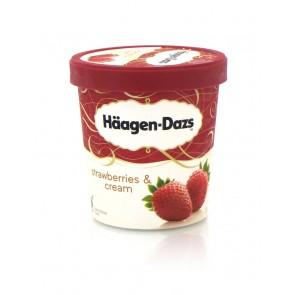 Häagen Dazs - Strawberry Cream
