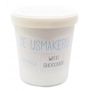 De IJsmakerij - Biologisch Witte Chocolade Roomijs