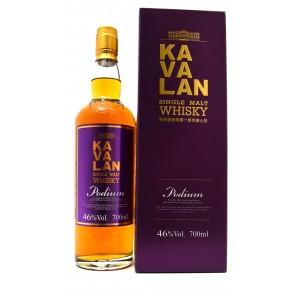 Kavalan -  Single Malt Whisky Podium