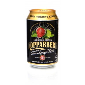 Kopparberg strawberry lime cider 330ml
