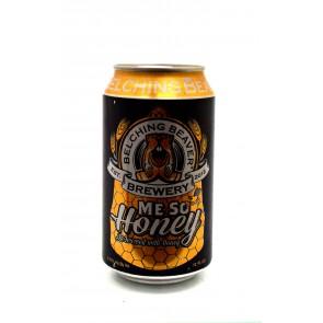 Belching Beaver Brewery - Me So Honey Ale Blik 375ml