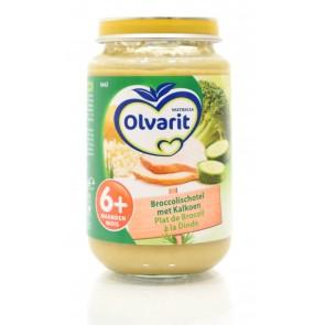 Olvarit - Babyvoeding 6+ Broccolischotel met kalkoen