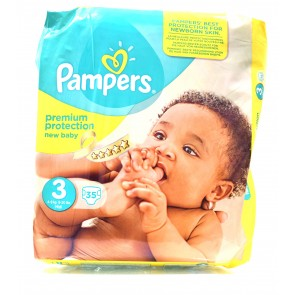 Pampers - New Baby 3 4-9kg Midi