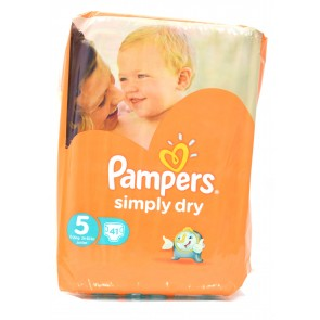 Pampers - Simply Dry 5 11-25kg Junior