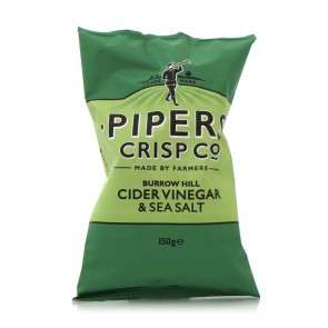 Pipers Crisp Co. - Burrow Hill Cider Vinegar and Sea Salt 150gr.