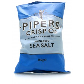 Pipers Crisp Co Anglesey Sea Salt 150gr.