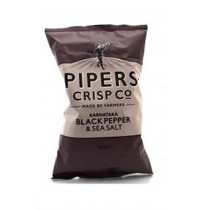 Pipers Crisp Co. - Karnataka Black Pepper & Sea Salt 150gr.