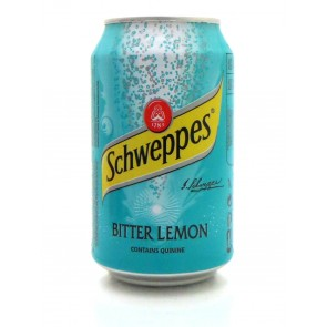 Schweppes - Bitter Lemon Blik