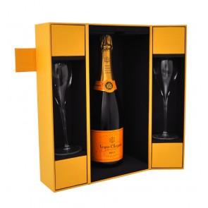 Veuve Clicquot - Brut Geschenk set