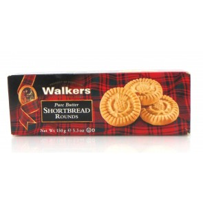 Walkers - Pure Butter Shortbread Rounds