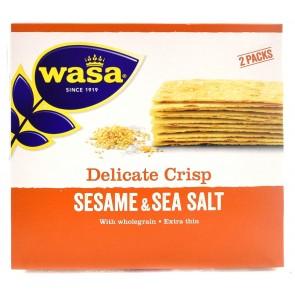 Wasa - Delicate Crisp Sesame & Sea Salt Crackers
