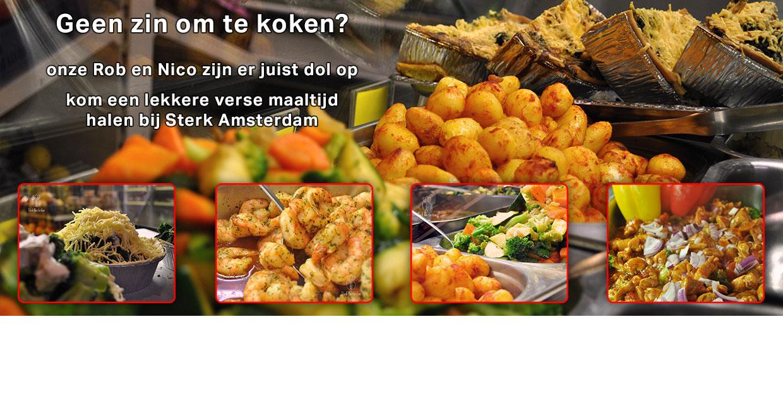 De verse maaltijden van Sterk Amsterdam