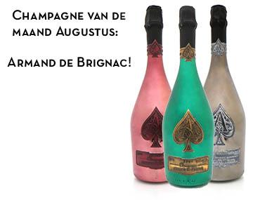 Champagne van de maand Augustus